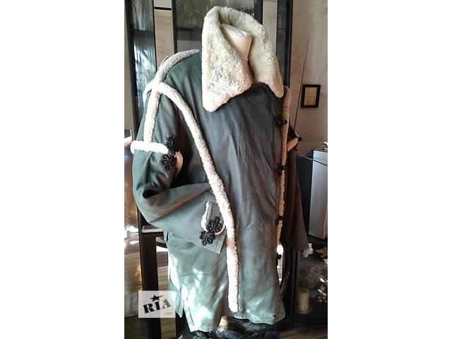 куртка женская кожаная утеплённая р 50- объявление о продаже  в Запорожье
