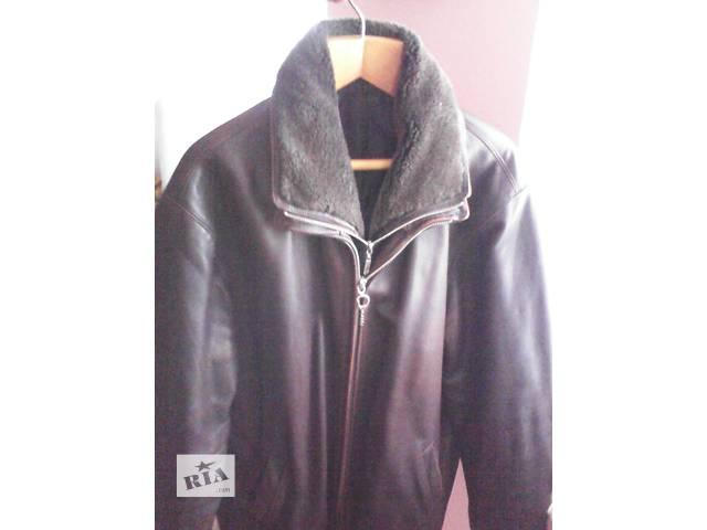 продам Куртка кожаная 52-54 демисезонная бу в Днепре (Днепропетровске)