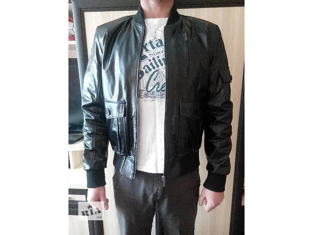 продам Куртка кожаная бу в Виннице