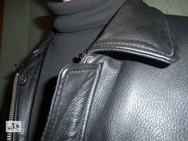 купить бу Куртка кожаная. в Калиновке