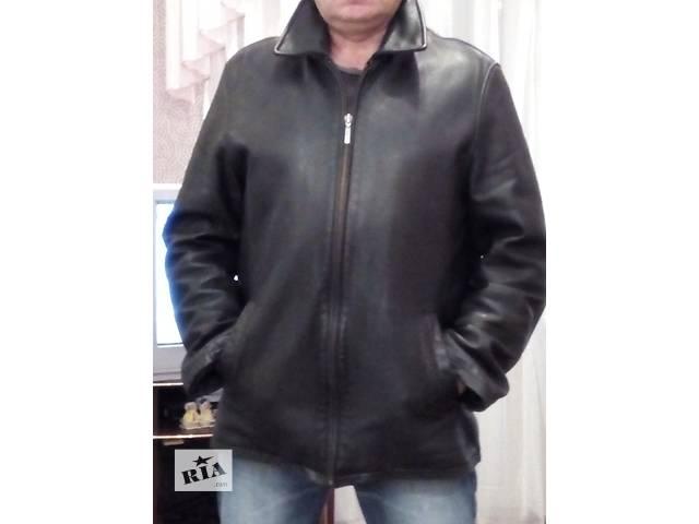 купить бу Куртка кожанная в Харькове
