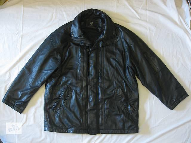 бу Куртка мужская кожаная BOGNER - размер XXL - 56, курточка, кожанка Богнэр в Тернополе