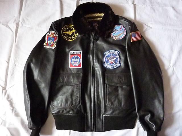 бу куртка мужская кожаная Top Gun в Львове