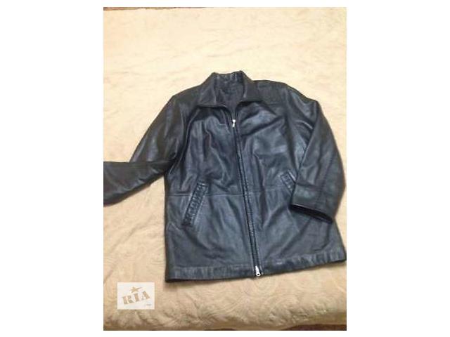 Куртка мужская кожаная- объявление о продаже  в Виннице