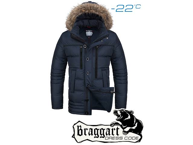 продам Куртка мужская зимняя Braggart 1519 бу в Киеве