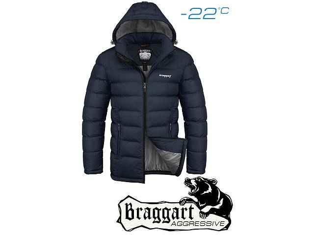 купить бу Куртка мужская зимняя Braggart 2415 в Киеве