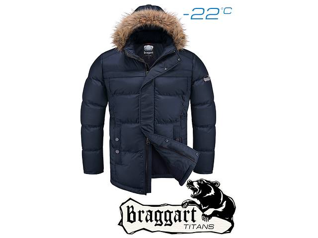 бу Куртка мужская зимняя Braggart 3338 в Киеве