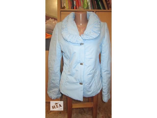продам Куртка на синтепоне, голубая, размер М бу в Днепре (Днепропетровске)