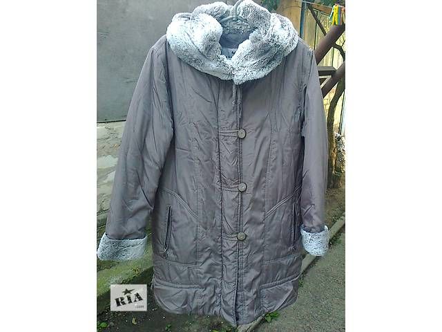 бу Куртка пальто женская (зима) в хорошем состоянии. в Запорожье