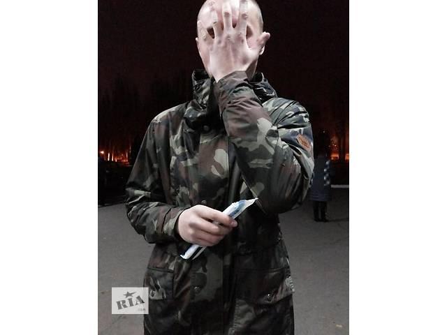 "бу Куртка-парка ""Staff street wear""размер ХL  Весна-поздняя осень в Харькове"