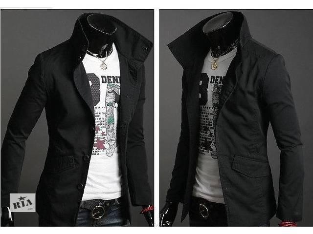 купить бу Куртка-пиджак черного цвета в Черкассах