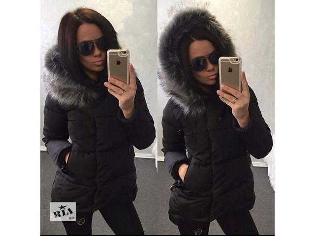 Куртка с мехом чернобурки- объявление о продаже  в Одессе