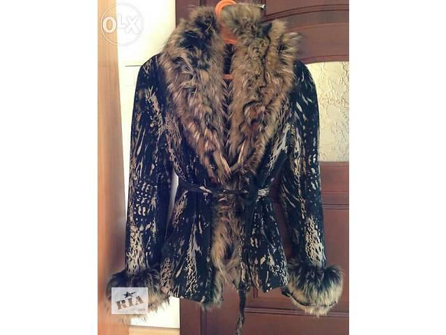 бу Куртка кожаная (весна ,осень,зима) в Ровно