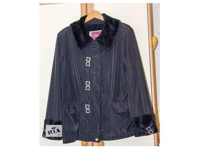 продам Куртка весна-осень на утеплённой подкладке  бу в Одессе