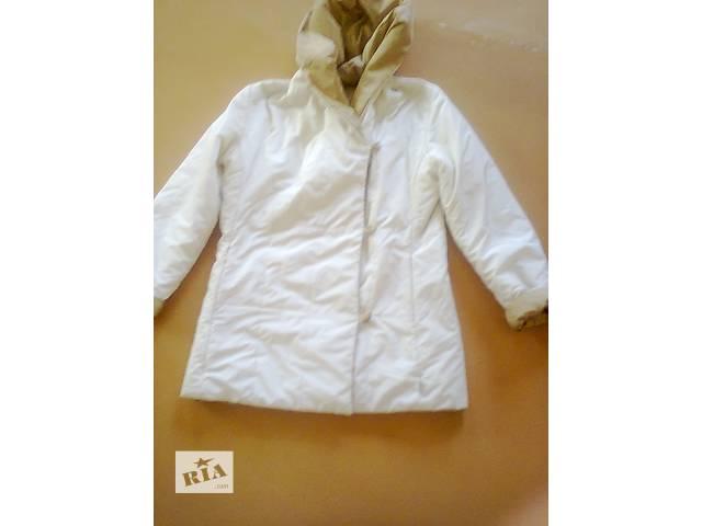 продам куртка женская двухцветная с утеплением Италия 44-46 размера бу в Мариуполе (Донецкой обл.)