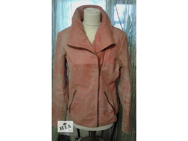 купить бу куртка женская кожаная р 46 в Запорожье