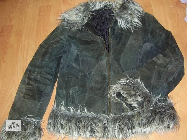купить бу Куртка женская искусственная замша р. 44 в Днепре (Днепропетровск)
