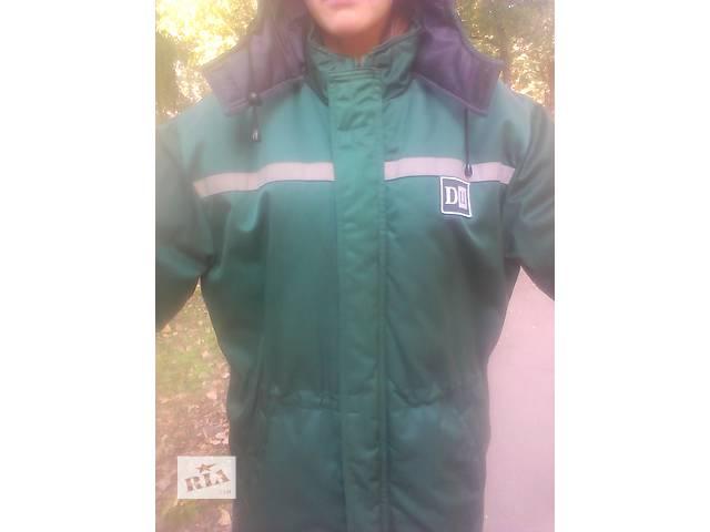 купить бу куртка зимняя для грузчиков и рабочих в Куликовке (Черниговской обл.)