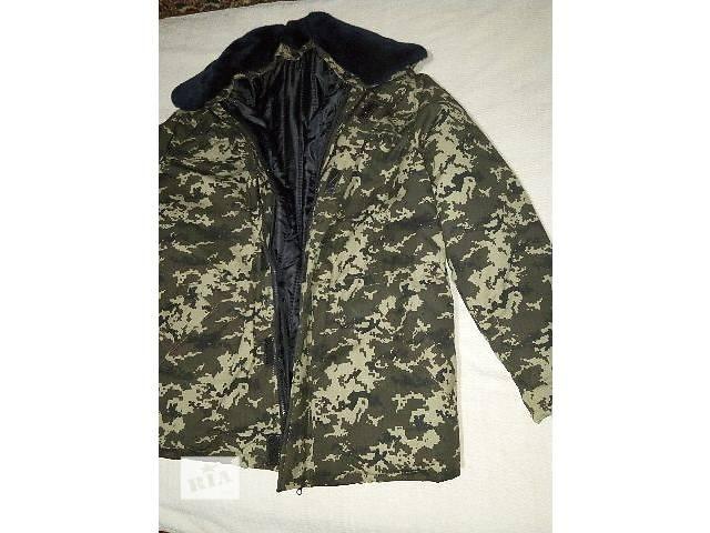продам Куртка зимняя комуфлированная пиксель бу в Одессе