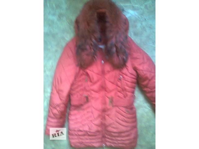 бу куртка зимняя с двойным синтепоном 46-48разм в Донецке