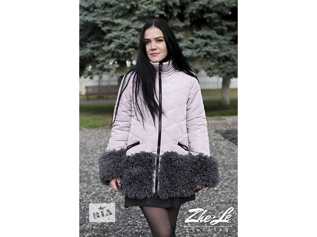 купить бу Куртка зимняя с мехом в Харькове