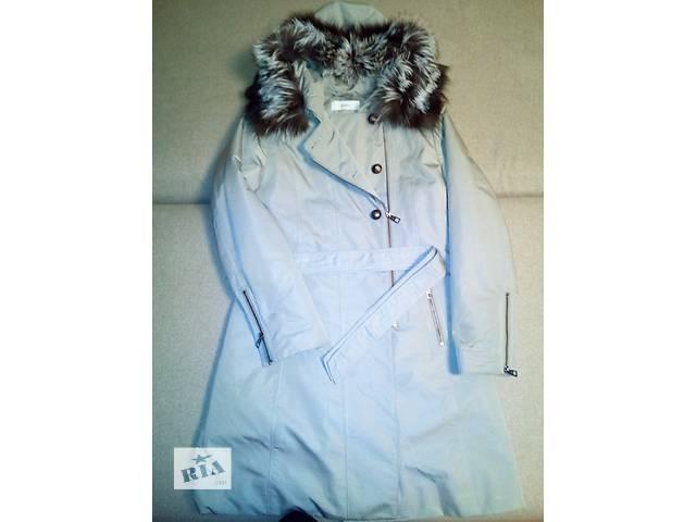 продам Куртка-пальто зимняя удлиненная на мехе кролика Thisulate (размер 48) бу в Черкассах