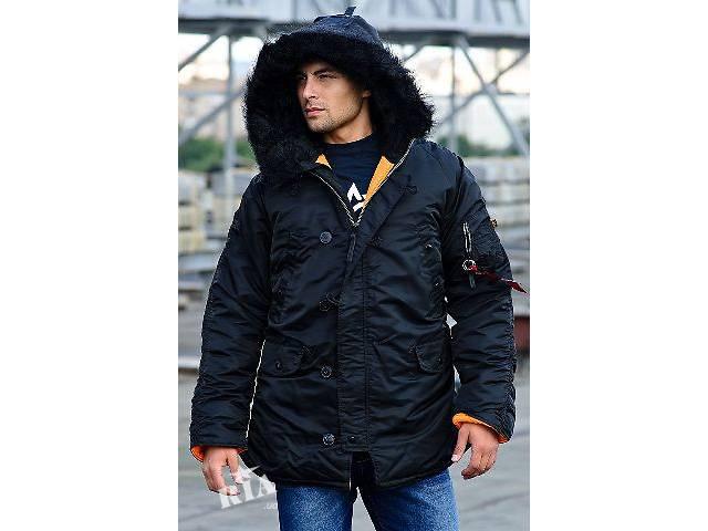 Куртка аляска Slim Fit N-3B Parka Alpha Industries, USA- объявление о продаже  в Львове