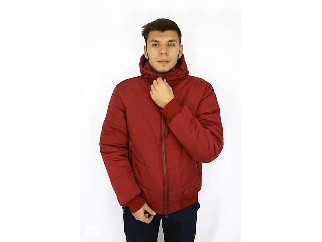купить бу Акция! Зимняя мужская куртка с капюшоном и утепленной подкладкой в Хмельницком