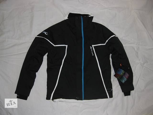 купить бу Курточка KJUS – разм. 152, для подростков, детей Куртка Кьюс ЛОГИ ЛОГІ лыжная, сноуборд Dermizax Thinsulate  в Тернополе