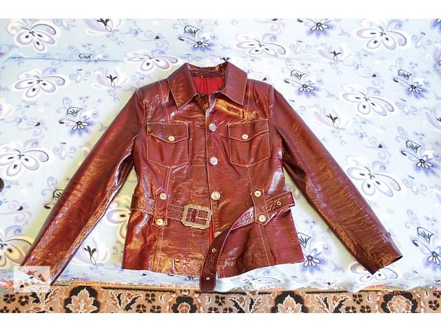 Курточка кожаная женская- объявление о продаже  в Киеве