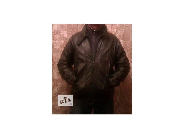 курточка натуральная кожа размер 48-50- объявление о продаже  в Мариуполе (Донецкой обл.)