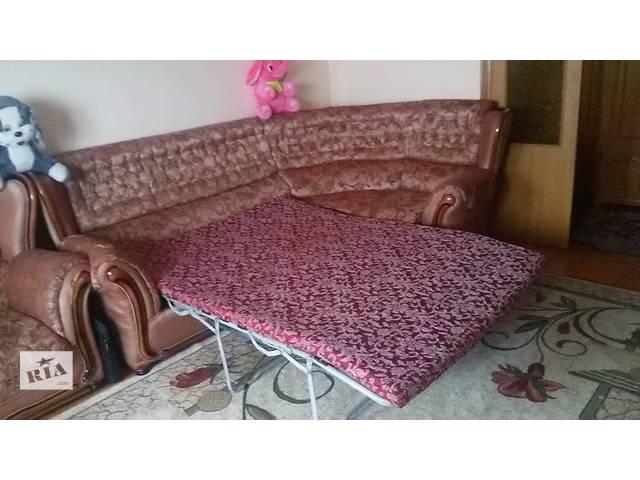 продам угловой диван и кресло бу в Тернополе
