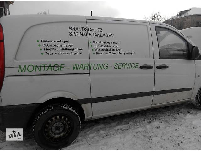 продам Кузов, бок, бочина, крыша Mercedes Vito (Viano) Мерседес Вито (Виано) V639 (109, 111, 115, 120) бу в Ровно