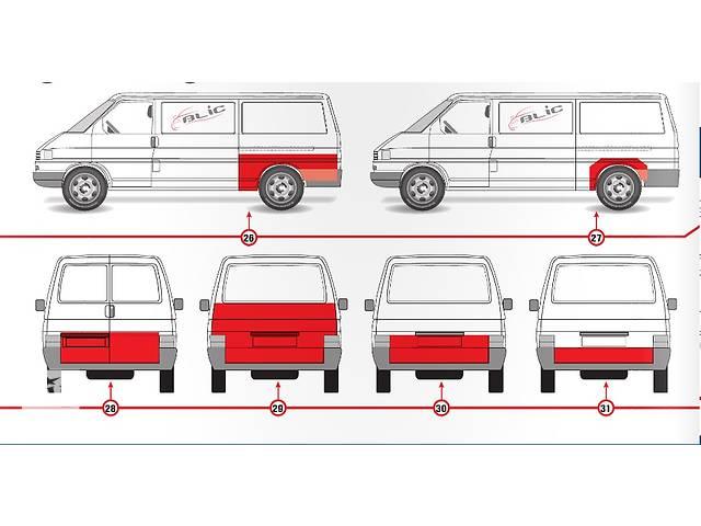 Кузов для легкового авто Volkswagen T4 (Transporter)- объявление о продаже  в Дрогобыче