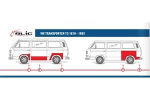 Новые Кузова автомобиля Volkswagen T3 (Transporter)