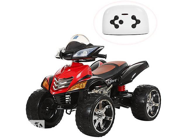 продам Квадроцикл детский M 3101 (MP3) EBLR-2, кожаное сиденье, красно-черный бу в Одессе