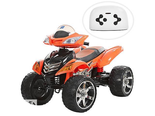 продам Квадроцикл детский M 3101 (MP3) EBLR-7, кожаное сиденье, оранжевый бу в Одессе