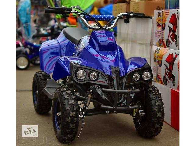 купить бу Квадроцикл PROFI HB-EATV 500C: 30км/ч, 36V, 500W до 100 кг СИНИЙ в Львове