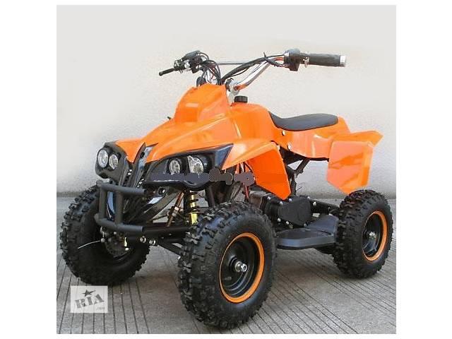 купить бу Квадроцикл PROFI HB-EATV 800C: 30км/ч, 36V, 800W до 100 кг ORANGE в Львове