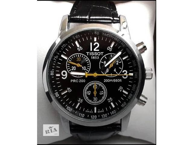 купить бу 2 цвета! Кварцевые часы  Tissot PRС200 в Тернополе