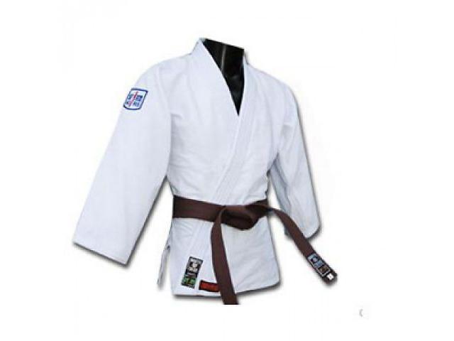 Кимоно для дзюдо белое Sfjam Noris Tiger White Excellence 800 г/м2- объявление о продаже  в Днепре (Днепропетровск)