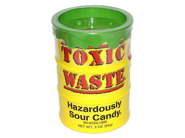 Кислые конфеты ToxicWasteSourCandy копилка- объявление о продаже  в Харькове