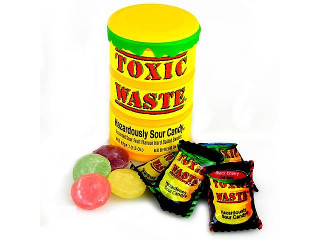 Кислые конфеты ToxicWasteSourCandy- объявление о продаже  в Харькове