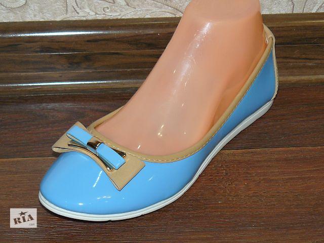 купить бу Лаковые балетки, туфли 36-41 разм в наличии в Доброполье