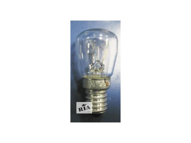 купить бу Лампа накаливания для холодильника 220в 15 вт цоколь Е14 в Северодонецке