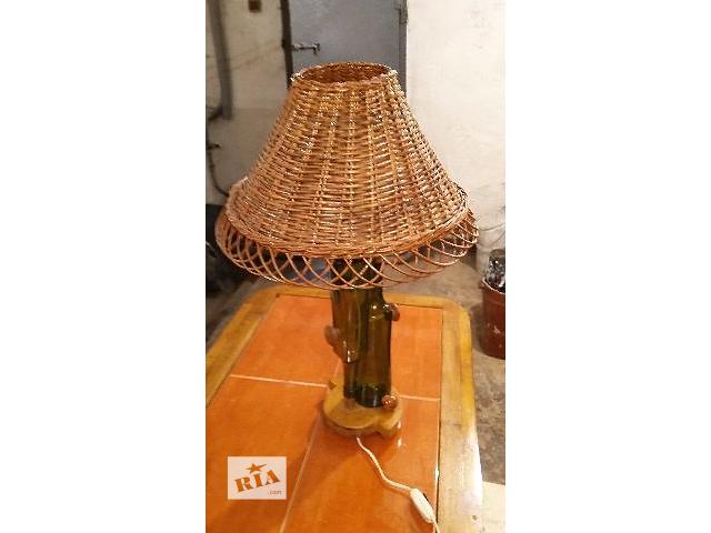 купить бу Лампа. Настольная лампа. Светильник. Лампа с абажуром. в Запорожье