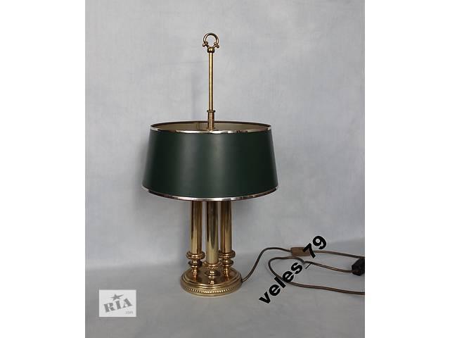 купить бу Лампа настольная, латунь, Германия(ФРГ) 1950-е г. в Каменском (Днепропетровской обл.) (Днепродзержинск)