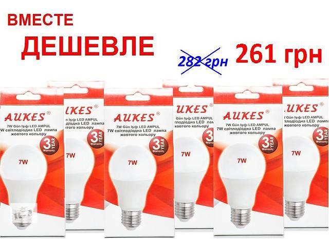 бу Лампа светодиодная  7W -E27- 270 °. В упаковке 6шт. в Киеве