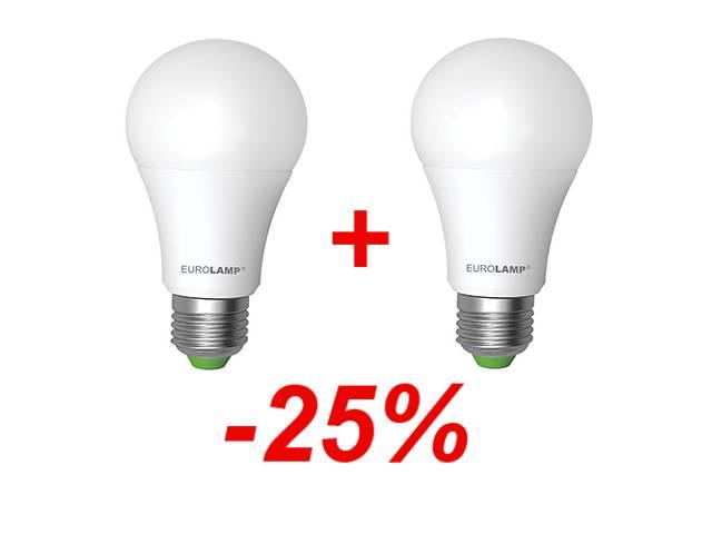 АКЦИЯ 1+1 LED Лампа A60 10W E27 3000K- объявление о продаже  в Харькове