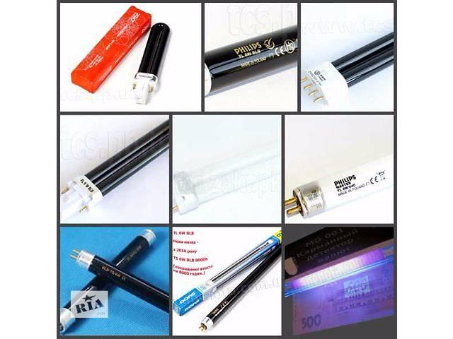 Лампы для детекторов валют (КЛ9УФ, PL, PL-S 7W,9W,11W; TL T5 G5 BLB 4W,6W,8W,VITO) Купить!- объявление о продаже  в Киеве